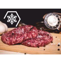 Hamburger húspogácsa (fagyasztott, 10 db - 140 gramm)