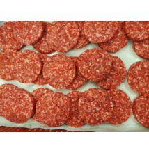Steakburger húspogácsa (rib eye, hátszín, fagyasztott, 10 pogácsa 1,4 kg)