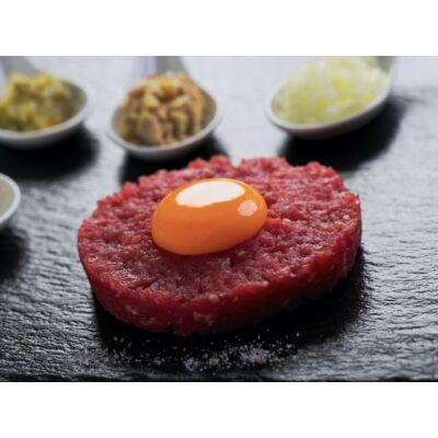 Bélszín tatár + hamburger csomag (fagyasztott 30 dkg+12 db)