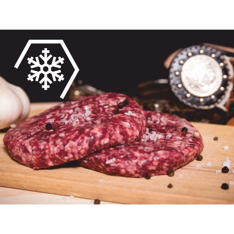 Fehérpecsenye tatár  + hamburger csomag (fagyasztott 2x30 dkg+12 db)